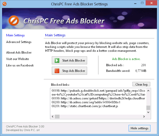 chris pc ad blocker