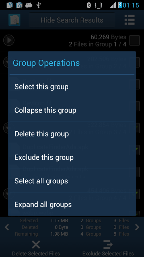 android duplicates (2)