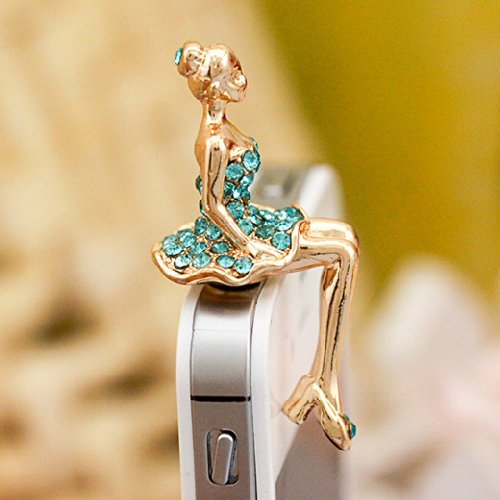 20 Beautiful & Fashionable Anti-Dust Plug For Your Mobile Audio Jack 3.5