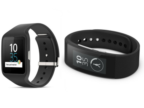 Wearable Gadgets Smartband Talk And SmartWatch 3 From Sony Launched In India