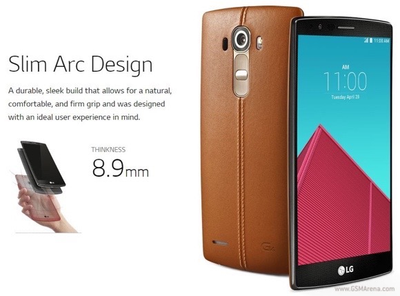 Lg New Smartphone G4 Specifications & Features Unveiled