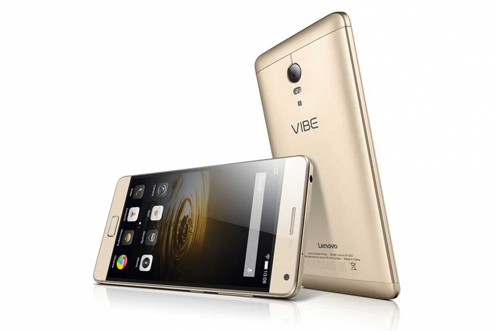 Lenovo Vibe P1 With Fingerprint Sensor