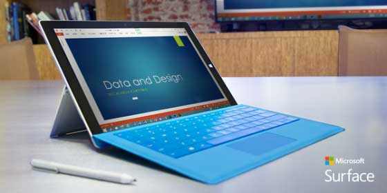 Microsoft Has Launched Thinnest Tablet Surface Pro 4