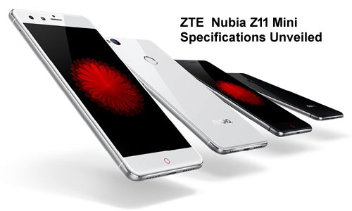 ZTE  Nubia Z11 Mini Specifications Unveiled