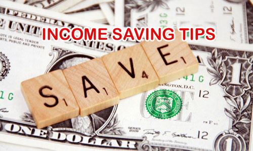 How To Save Money On Income In 2016