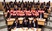 A Practice That Can Help You Clear The Test