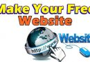 How To Create A Website Free Of Cost With Lots Of Tools And Guide