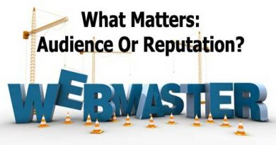 What Matters: Audience Or Reputation