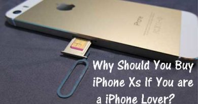 Why Should You Buy iPhone Xs If You are a iPhone Lover?