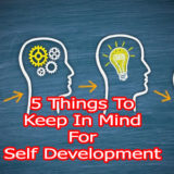 5 Things To Keep In Mind For Self Development